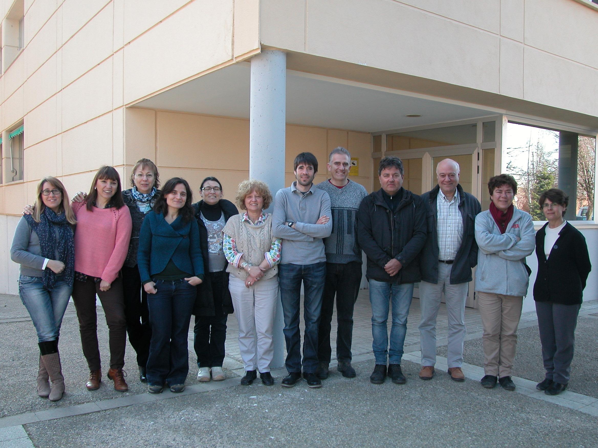 Equip integrant del programa de Cultius extensius sostenibles
