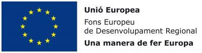 Logo Fons Europeu de Desenvolupament Regional