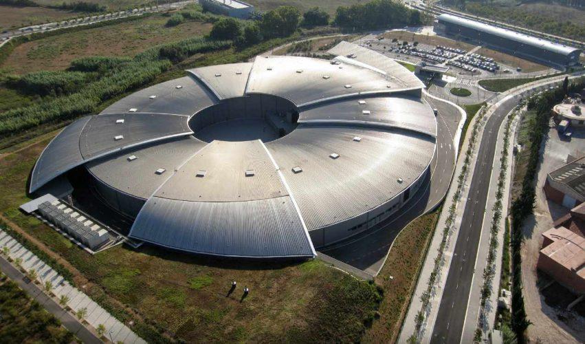 Aerial photo of the ALBA Synchrotron